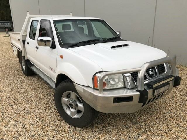 Pre-Owned Nissan Navara D22 Series 5 ST-R (4x4) Wangaratta, 2012 Nissan Navara D22 Series 5 ST-R (4x4) White 5 Speed Manual Dual Cab Pick-up