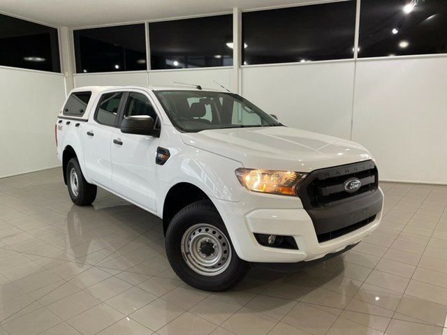 Used Ford Ranger PX MkII XL Deer Park, 2017 Ford Ranger PX MkII XL White 6 Speed Sports Automatic Utility
