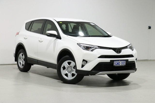 Used Toyota RAV4 ZSA42R MY18 GX (2WD) Bentley, 2018 Toyota RAV4 ZSA42R MY18 GX (2WD) White Continuous Variable Wagon