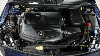 2018 Mercedes-Benz A-Class W176 808+058MY A200 DCT Cavansite Blue 7 Speed
