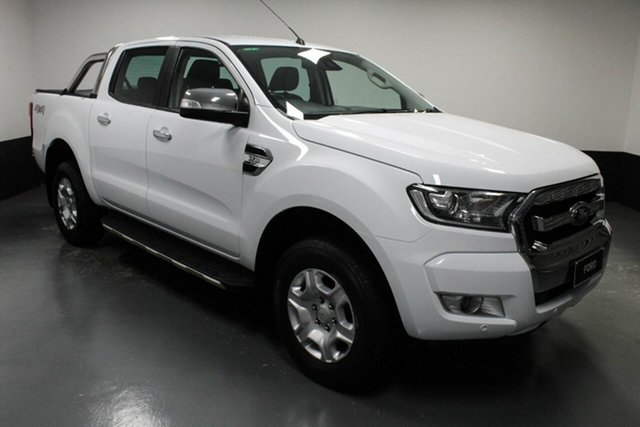 Used Ford Ranger PX MkII XLT Double Cab Cardiff, 2017 Ford Ranger PX MkII XLT Double Cab White 6 Speed Sports Automatic Utility
