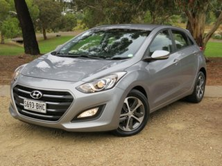 2015 Hyundai i30 GD4 Series II MY16 Active X Grey 6 Speed Sports Automatic Hatchback.