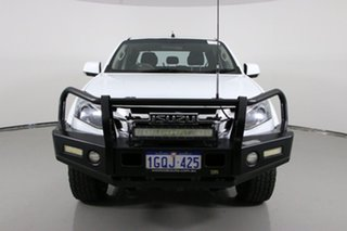 2015 Isuzu D-MAX TF MY15 LS-M HI-Ride (4x4) White 5 Speed Automatic Crew Cab Utility.