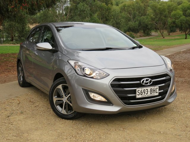 Used Hyundai i30 GD4 Series II MY16 Active X Morphett Vale, 2015 Hyundai i30 GD4 Series II MY16 Active X Grey 6 Speed Sports Automatic Hatchback