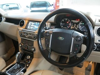 2012 Land Rover Discovery 4 Series 4 MY12 SDV6 CommandShift HSE Black 6 Speed Sports Automatic Wagon