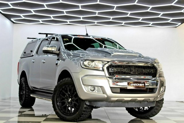 Used Ford Ranger PX MkII XLT 3.2 (4x4) Burleigh Heads, 2016 Ford Ranger PX MkII XLT 3.2 (4x4) Grey 6 Speed Automatic Double Cab Pick Up