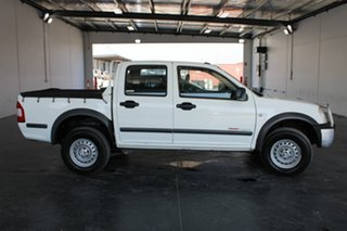 2005 Holden Rodeo RA MY06 Upgrade LX White 5 Speed Manual Space Cab Pickup.