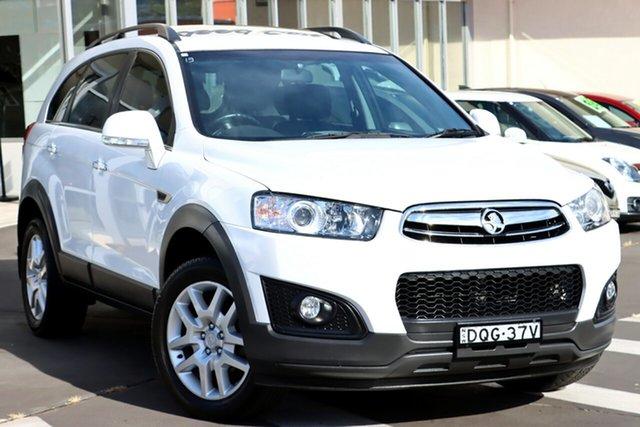Used Holden Captiva CG MY15 7 Active Wollongong, 2015 Holden Captiva CG MY15 7 Active White 6 Speed Sports Automatic Wagon