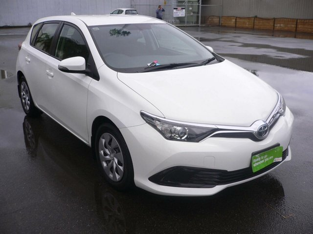 Used Toyota Corolla ZRE182R Ascent S-CVT St Marys, 2017 Toyota Corolla ZRE182R Ascent S-CVT White 7 Speed Constant Variable Hatchback