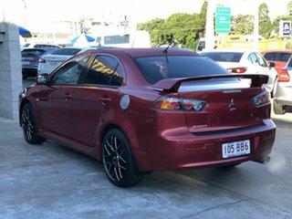 2013 Mitsubishi Lancer CJ MY14 VR-X Red 5 Speed Manual Sedan.