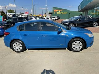 2011 Holden Cruze JH MY12 CD Blue 6 Speed Automatic Hatchback