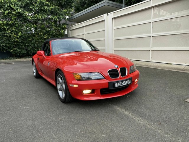 Used BMW Z3 E36-7 Zetland, 1997 BMW Z3 E36-7 Red 5 Speed Manual Roadster