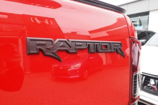 2020 Ford Ranger PX MkIII 2020.25MY Raptor Red 10 Speed Sports Automatic Double Cab Pick Up