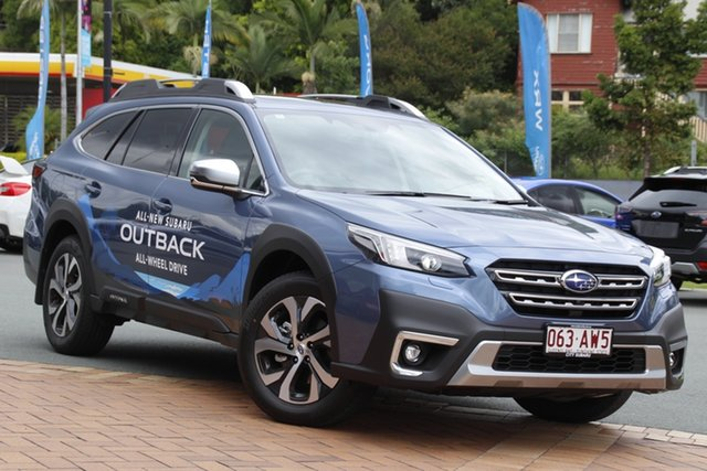Demo Subaru Outback B7A MY21 AWD Touring CVT Newstead, 2020 Subaru Outback B7A MY21 AWD Touring CVT Storm Grey 8 Speed Constant Variable Wagon
