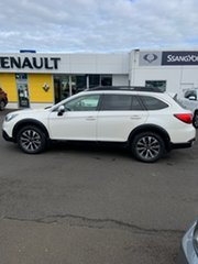 2016 Subaru Outback B6A MY16 2.5i CVT AWD Premium White 6 Speed Constant Variable Wagon