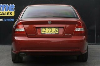 2005 Holden Commodore VZ Equipe Red 4 Speed Automatic Sedan