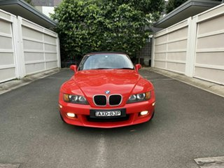 1997 BMW Z3 E36-7 Red 5 Speed Manual Roadster.
