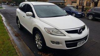 2008 Mazda CX-9 Luxury Pearl White 6 Speed Auto Activematic Wagon.