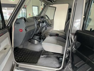 2019 Toyota Landcruiser VDJ79R GXL Double Cab Grey 5 Speed Manual Cab Chassis
