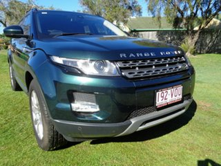 2014 Land Rover Range Rover Evoque L538 MY15 Pure Green 9 Speed Sports Automatic Wagon