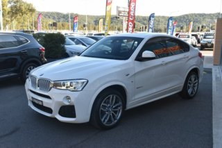 2015 BMW X4 F26 xDrive35d Coupe Steptronic White 8 Speed Automatic Wagon