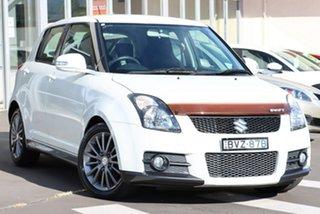 2010 Suzuki Swift RS416 Sport White 5 Speed Manual Hatchback.