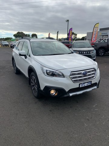 Used Subaru Outback B6A MY16 2.5i CVT AWD Premium Warrnambool East, 2016 Subaru Outback B6A MY16 2.5i CVT AWD Premium 6 Speed Constant Variable Wagon