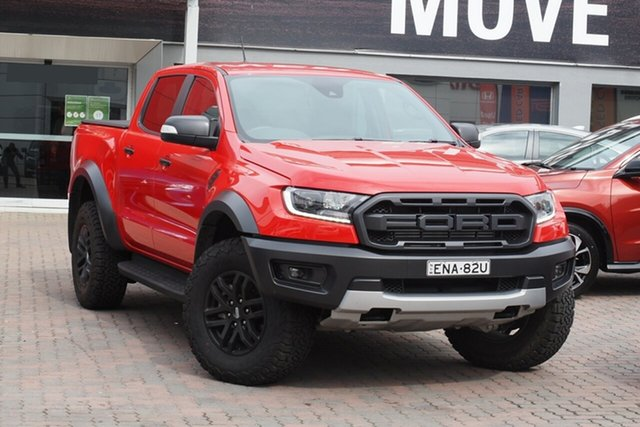 Used Ford Ranger PX MkIII 2020.25MY Raptor Parramatta, 2020 Ford Ranger PX MkIII 2020.25MY Raptor Red 10 Speed Sports Automatic Double Cab Pick Up