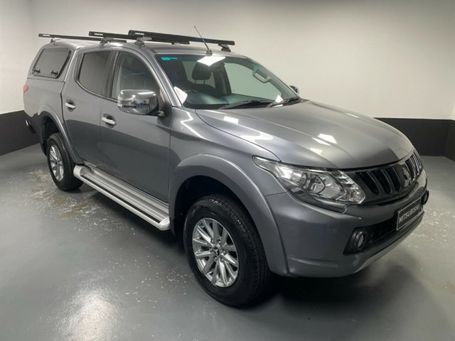 Used Mitsubishi Triton MQ MY18 GLS Double Cab Cardiff, 2017 Mitsubishi Triton MQ MY18 GLS Double Cab Grey 5 Speed Sports Automatic Utility