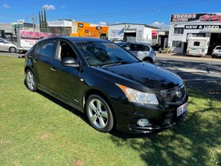 2012 Holden Cruze JH Series II MY13 Equipe Black 6 Speed Sports Automatic Hatchback