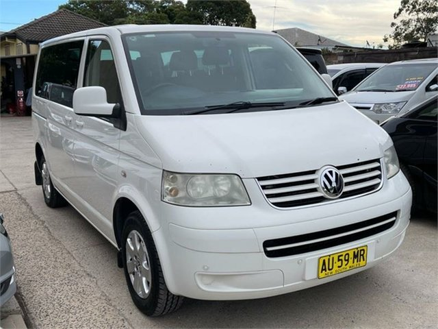 Used Volkswagen Caravelle T5 Silverwater, 2008 Volkswagen Caravelle T5 White Sports Automatic Wagon