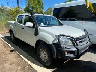 2016 Isuzu D-MAX MY15 SX Crew Cab White 5 speed Automatic Utility