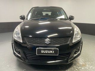 2013 Suzuki Swift FZ MY13 GL Black 5 Speed Manual Hatchback