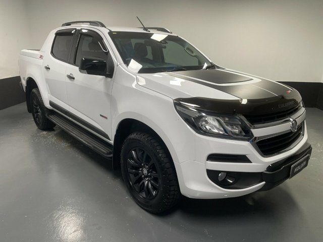 Used Holden Colorado RG MY19 Z71 Pickup Crew Cab Cardiff, 2019 Holden Colorado RG MY19 Z71 Pickup Crew Cab White 6 Speed Sports Automatic Utility