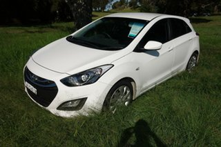 2013 Hyundai i30 GD Active White 6 Speed Sports Automatic Hatchback