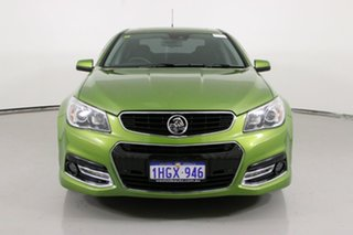 2015 Holden Commodore VF MY15 SS-V Redline Jungle Green 6 Speed Manual Sedan.