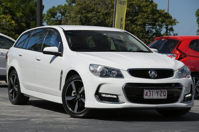 Used Holden Commodore VF II MY17 SV6 Sportwagon North Lakes, 2017 Holden Commodore VF II MY17 SV6 Sportwagon White 6 Speed Sports Automatic Wagon
