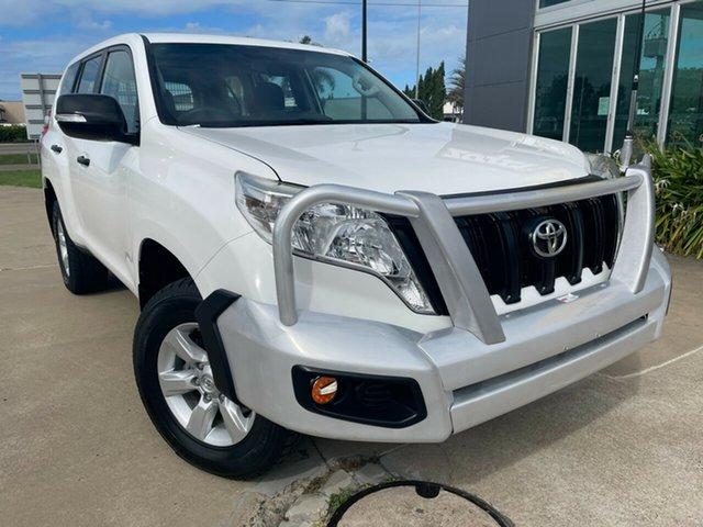 Used Toyota Landcruiser Prado GDJ150R GX Townsville, 2016 Toyota Landcruiser Prado GDJ150R GX White/290416 6 Speed Sports Automatic Wagon