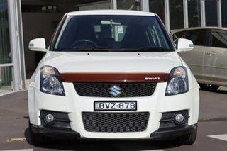 2010 Suzuki Swift RS416 Sport White 5 Speed Manual Hatchback