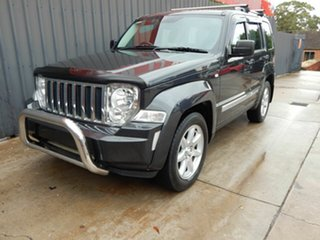 2010 Jeep Cherokee KK MY11 Limited Grey 4 Speed Automatic Wagon.
