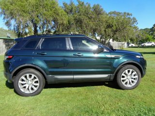 2014 Land Rover Range Rover Evoque L538 MY15 Pure Green 9 Speed Sports Automatic Wagon.