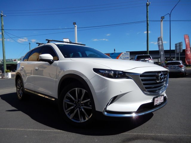 Pre-Owned Mazda CX-9 MY19 GT (AWD) Dalby, 2018 Mazda CX-9 MY19 GT (AWD) White 6 Speed Automatic Wagon