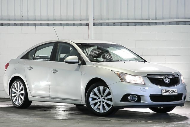 Used Holden Cruze JH Series II MY13 CDX West Gosford, 2013 Holden Cruze JH Series II MY13 CDX Silver 6 Speed Sports Automatic Sedan