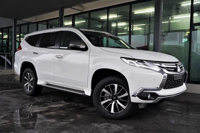 Used Mitsubishi Pajero Sport QE MY19 Exceed Cairns, 2018 Mitsubishi Pajero Sport QE MY19 Exceed White 8 Speed Sports Automatic Wagon
