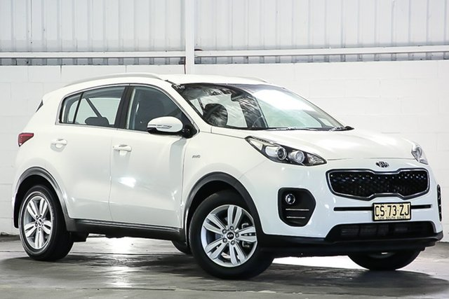 Used Kia Sportage QL MY16 Si AWD West Gosford, 2016 Kia Sportage QL MY16 Si AWD White 6 Speed Sports Automatic Wagon