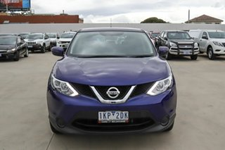 2017 Nissan Qashqai J11 ST Blue 1 Speed Constant Variable Wagon
