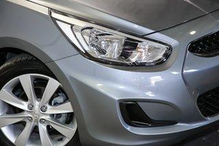 2018 Hyundai Accent RB6 MY18 Sport Silver 6 Speed Sports Automatic Sedan.