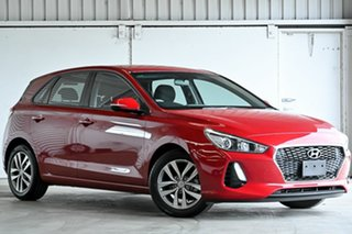 2018 Hyundai i30 PD MY18 Active Red 6 Speed Sports Automatic Hatchback.