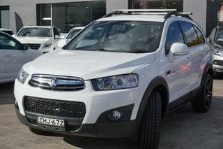 2012 Holden Captiva CG Series II 7 AWD CX White 6 Speed Sports Automatic Wagon