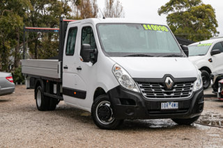 2018 Renault Master X62 Double Cab LWB AMT RWD Oqng 6 Speed Sports Automatic Single Clutch.